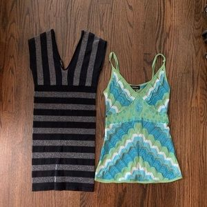 Bebe bundle - fitted dress and dressy tank